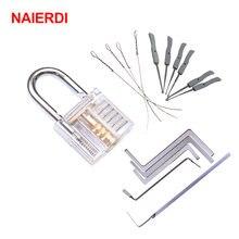 Мини слесарные инструменты naierdi учебный набор с прозрачным