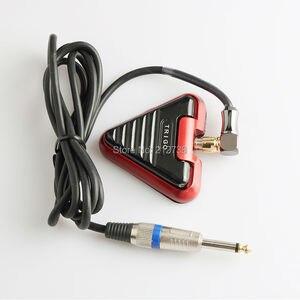 Image 1 - 新しいtrigoタトゥーフットペダルスイッチシリコーンrcaコードプレミアムタトゥーフットスイッチ · ペダル用機セット供給