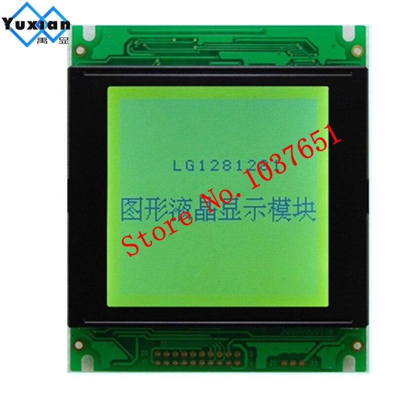 1PCS 128128 lcd display panel graphic module gree 5v 85X100mm T6963C UCI6963 20PIN WG128128A LG1281281 New brand 1PCS 128128 lcd display panel graphic module gree 5v 85X100mm T6963C UCI6963 20PIN WG128128A LG1281281 New brand