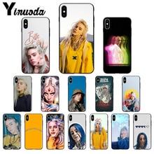 Yinuoda Billie Eilish Khalid Custom Photo Soft Phone Case for iPhone 5 5Sx 6 7 7plus 8 8Plus X XS MAX XR