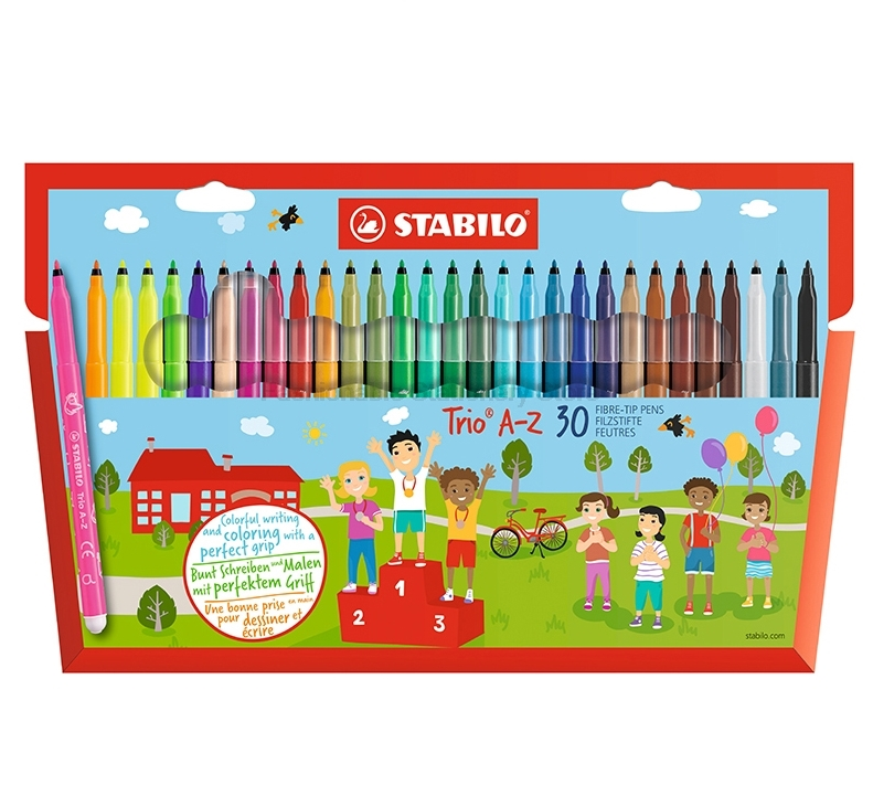 Stabilo 378 Water Color Pen Doodle Pen Easy Washing Brightly Colored Art Markers
