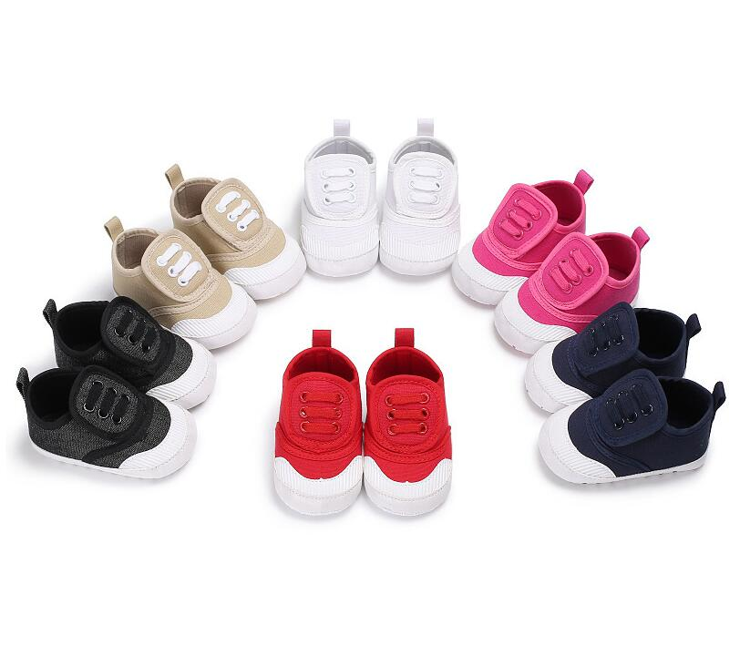 Casual canvas shoes for Newborn baby girls and boys first walker sneaker soft sole toddler baby moccasins shoes