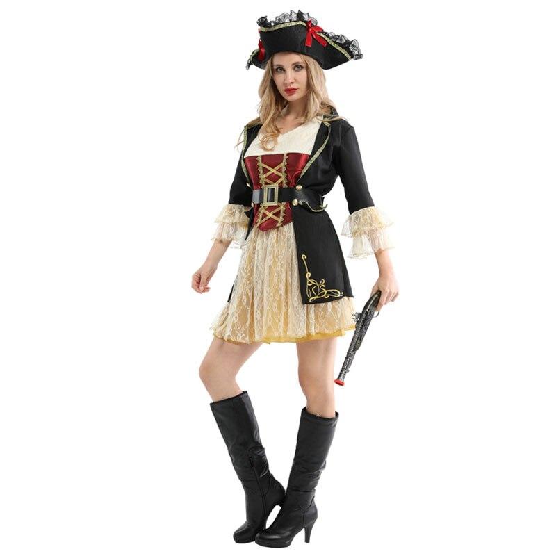 Ladies Pirates Buccaneer Halloween Costume 1