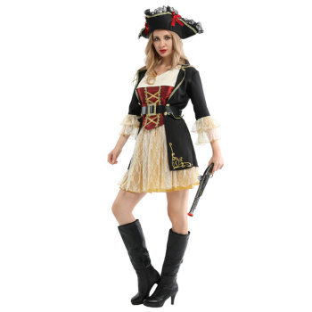Ladies Pirates Buccaneer Halloween Costume 1