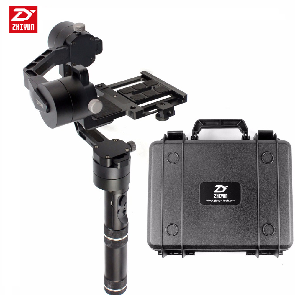 Zhiyun Crane V2 3 axle Handheld Stabilizer 3-axi gimbal for DSLR Canon Cameras Support 1.8KG yuneec q500 typhoon quadcopter handheld cgo steadygrip gimbal black