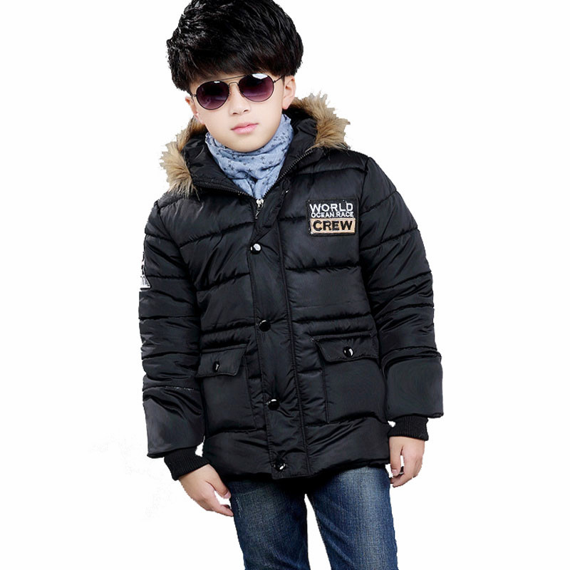 2016 New Winter Autumn Boys Jackets And Coats Hooded Brand Fashion Kids Jacket Coats Children ...
