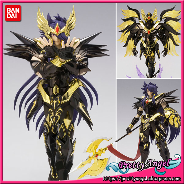 купить PrettyAngel - Genuine Bandai Tamashii Nations Saint Cloth Myth EX Saint Seiya: Soul of Gold Evil God Loki Action Figure по цене 10774.85 рублей