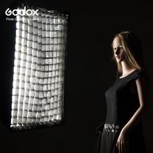 "Softbox Godox 80*120cm 32 ""x 47"" portátil Rectangular rejilla panal Softbox con soporte Bowens para Flash de estudio"