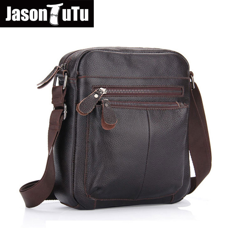 JASON TUTU 100% Genuine Leather Men Messenger Bag Business Cowhide Shoulder Crossbody Bag Christmas+Free Gift Satchels HN11 молочный шоколад simon coll зонтик 35 г красный