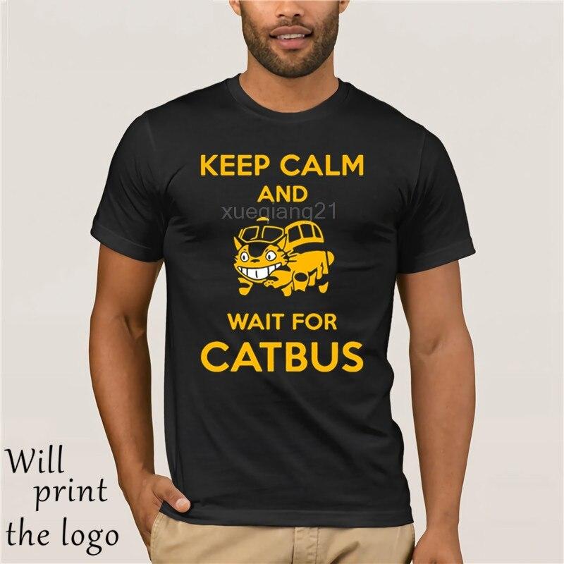 Ofertas QUENTES Base camiseta Roupas Studio Ghibli Meu Vizinho Totoro Catbus t-shirt meninos tecido agradável camisa de t para crianças loja