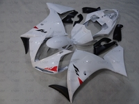 YZFR1 10 11 Body Kits YZF R1 2009 2011 White Fairings YZF R1 2010 Fairing Kits