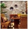 Chinese Imitation Brick Retro Brick Pattern Wallpaper Gray Brick Wallpaper Brick Wall Vinyl Wallpapers Papel De