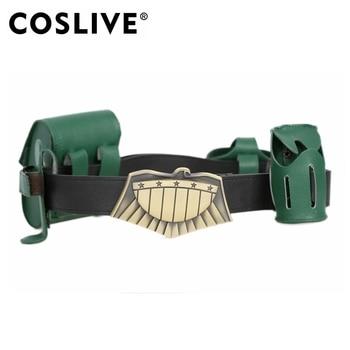 Coslive ジャッジドレッドベルト 4 グリーンポーチコスプレ衣装の小道具ハロウィン Judge ドレッドベルト