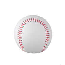 hot selling 1 Piece 9″ New White Base Ball Baseball Practice Trainning PVC Softball/Hardball hand sewing Sport Team Game