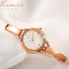 Kimio Retro Diamonds Dial Ladies Watch Women Quartz Clock Fine Bracelet Fashion Leisure women's Watches saat relogio feminino