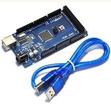 Мега 2560 R3 Mega2560 REV3 (ATmega2560-16AU CH340G) Совет ПО USB Кабель, Совместимый для Arduino С Usb-кабель