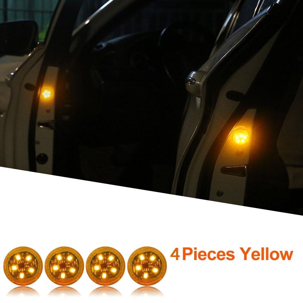 Yellow x 4 Lights
