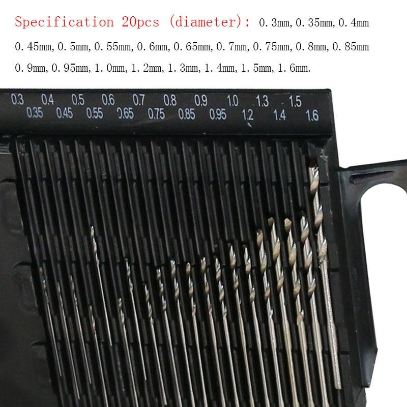 Yalku Twist Drill Bit Set Power Tool Set Twist Drill Bits Tool Kit HSS Twist Drill Bit Set Metal Repair Tools High Speed Steel