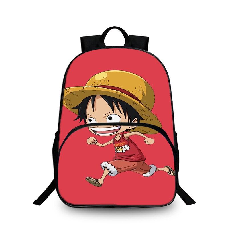 Baobeiku 3D Рюкзаки модный принт Одна деталь характер Сумки для детей школьная дети рюкзак для ноутбука дропшиппинг