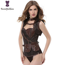 Summer sexy Royal Court women Corsets  girly Steampunk Intimates body shaper set waist bodysuit shapewear Breathable 926