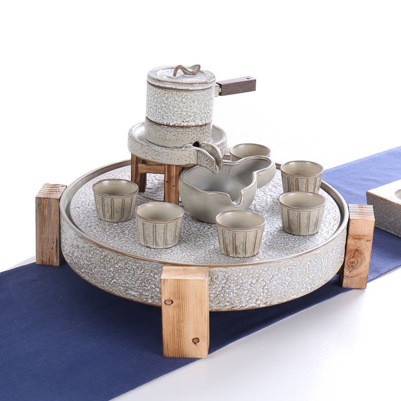 Ceramica Tè Insieme del Vestito Ogni Cane Ha Il Suo Giorno di Originalità Pietra Dawdler Kungfu Ceramica Infuso Di Tè Organo Per La Casa On Line - 5