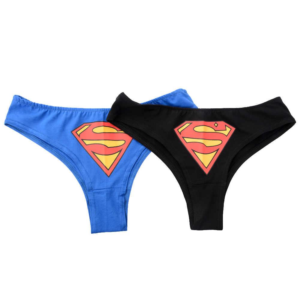 Wanita Seksi Batman G-string Tali Pakaian Dalam Wanita Pakaian Dalam Celana Celana Celana