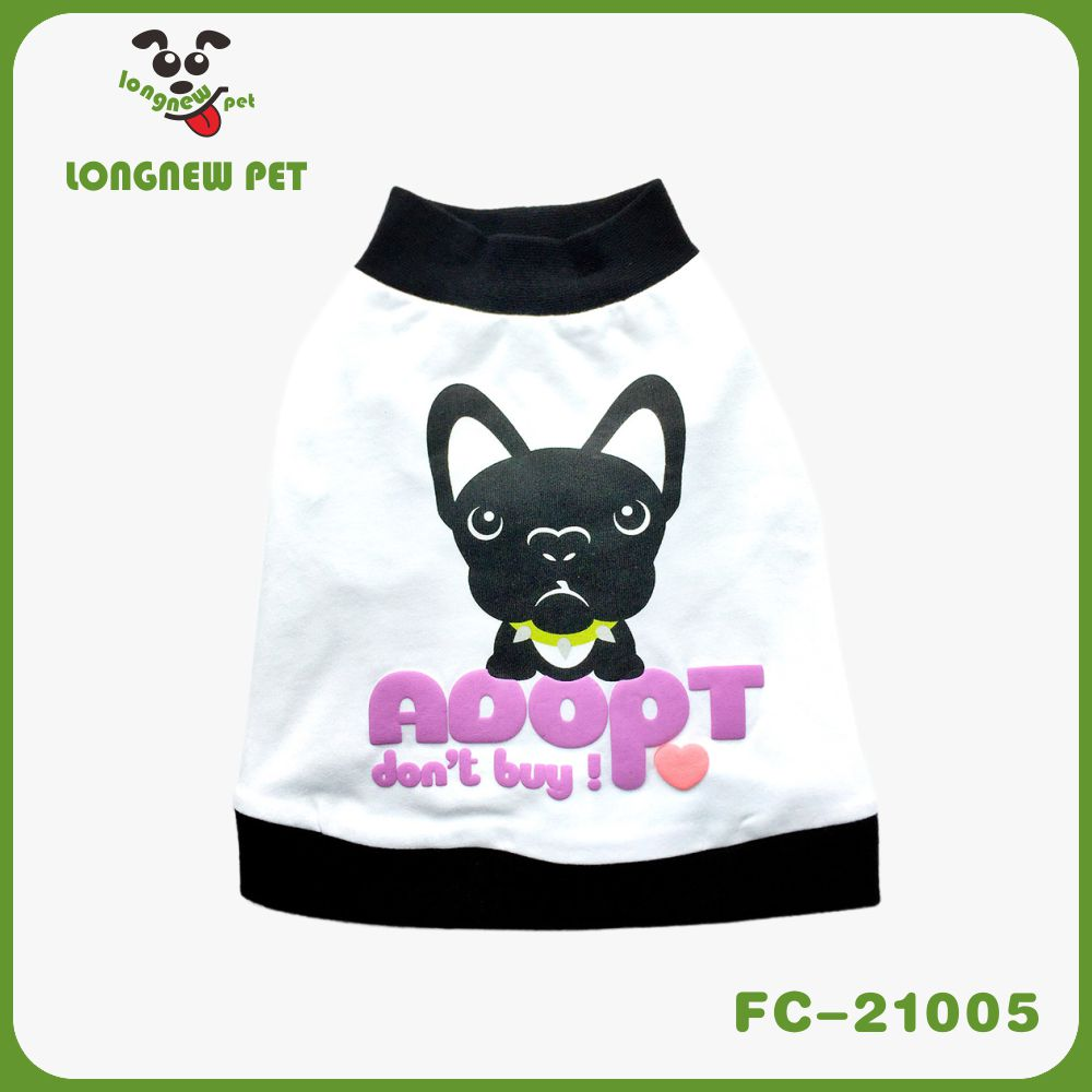 New Spring/Summer All Seasons Love French Bulldog Print Sporty Designer Cotton Unisex Tank Top Tee