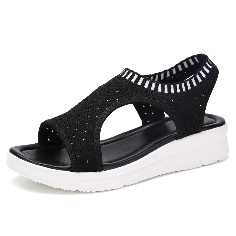 Kseniya Kids Flat Sandal For Women Shose Summer Sport Casual Fisherman Low Heel Women Sandals