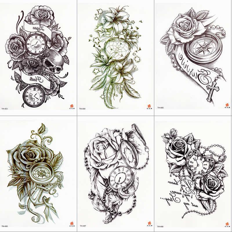 Detalle Comentarios Preguntas Sobre Rosa Reloj Cuerpo Arte