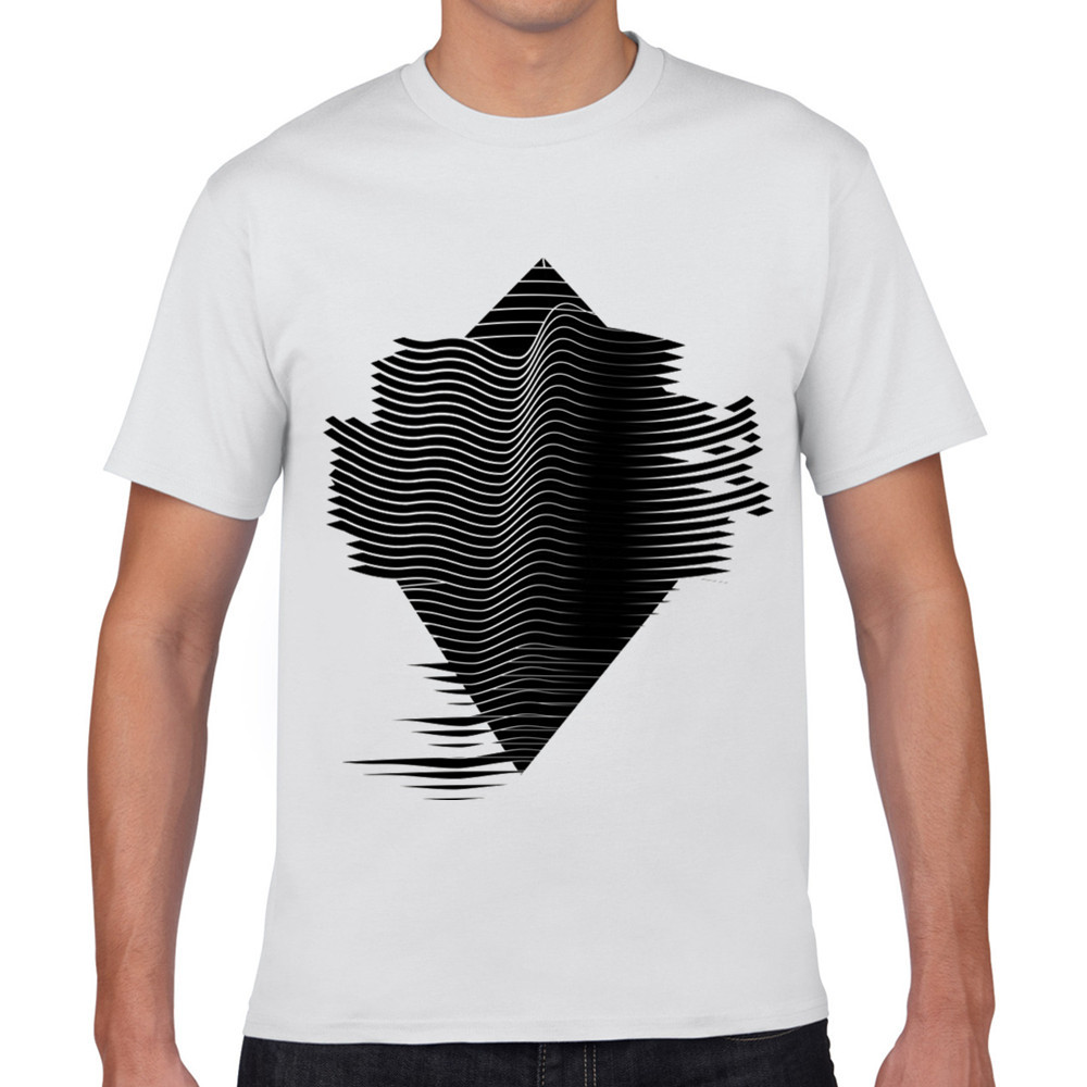 2018 latest fashion men summer t shirt geometric 3d t for What t shirts are in fashion