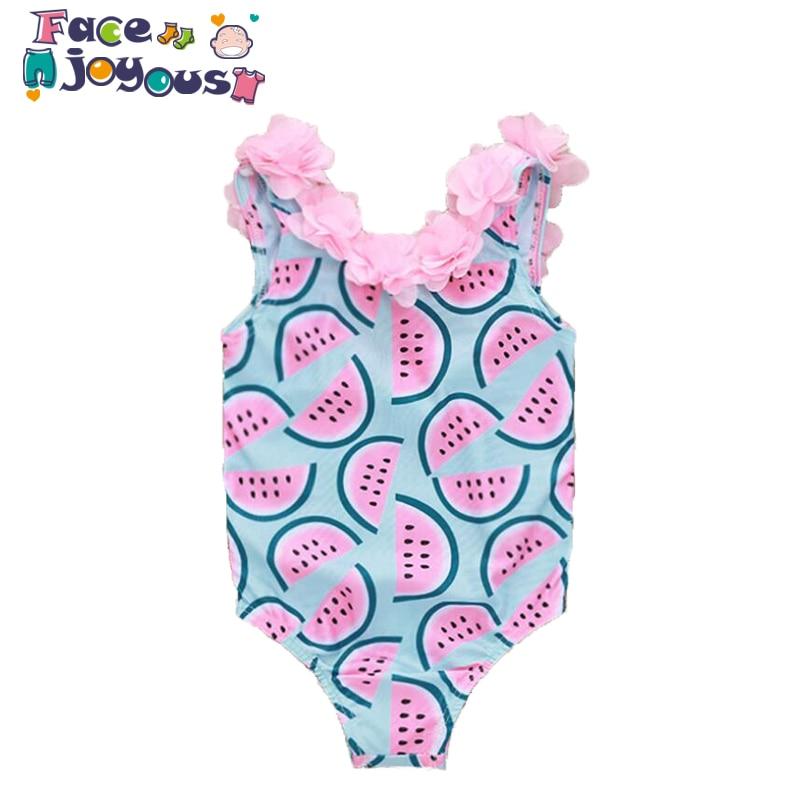 One Piece Swimsuits Summer Newborn Toddler Baby Kids Girl Swimsuit Swimwear Swimming Bikini -6780