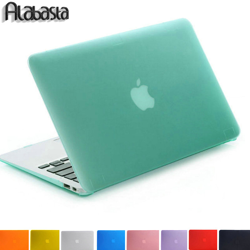 Alabasta matte rubberized hard case cover for macbook pro 13 15 pro retina 12 13 15