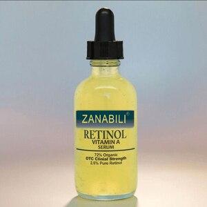 Image 1 - ZANABILI טהור רטינול ויטמין 2.5% + חומצה היאלורונית טיפוח עור אקנה קרם הסרת כתמי פנים סרום נגד קמטים קרם