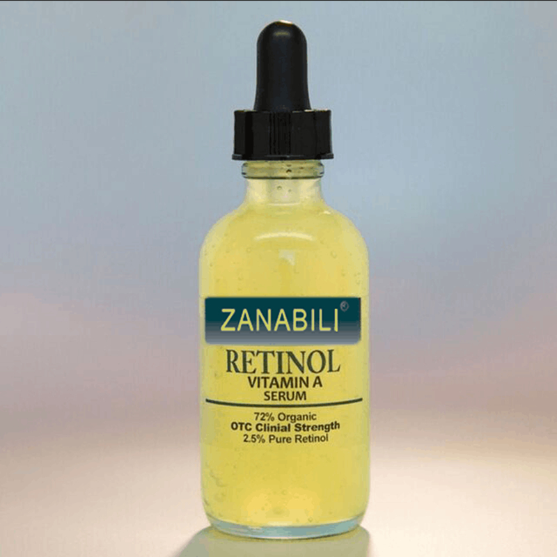 ZANABILI Pure Retinol Vitamin A 2 5 Hyaluronic Acid Skin Care Acne Cream Removal Spots Facial