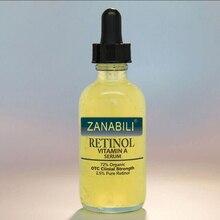 ZANABILI Pure Retinol vitamina A 2.5% acido ialuronico cura della pelle crema per lacne macchie di rimozione siero viso crema antirughe