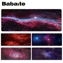 Babaite Space Universe Keyboard font b Gaming b font MousePads Size for 40x90CM font b Computer