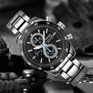 Image 3 - 100% Оригинальные часы SEIKO Solar, модные деловые кварцевые мужские часы SSC531J1