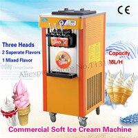 Вертикальный аппарат для мягкого мороженого  цифровая система управления  Три головки вертикального типа  совершенно новые различные цвет...