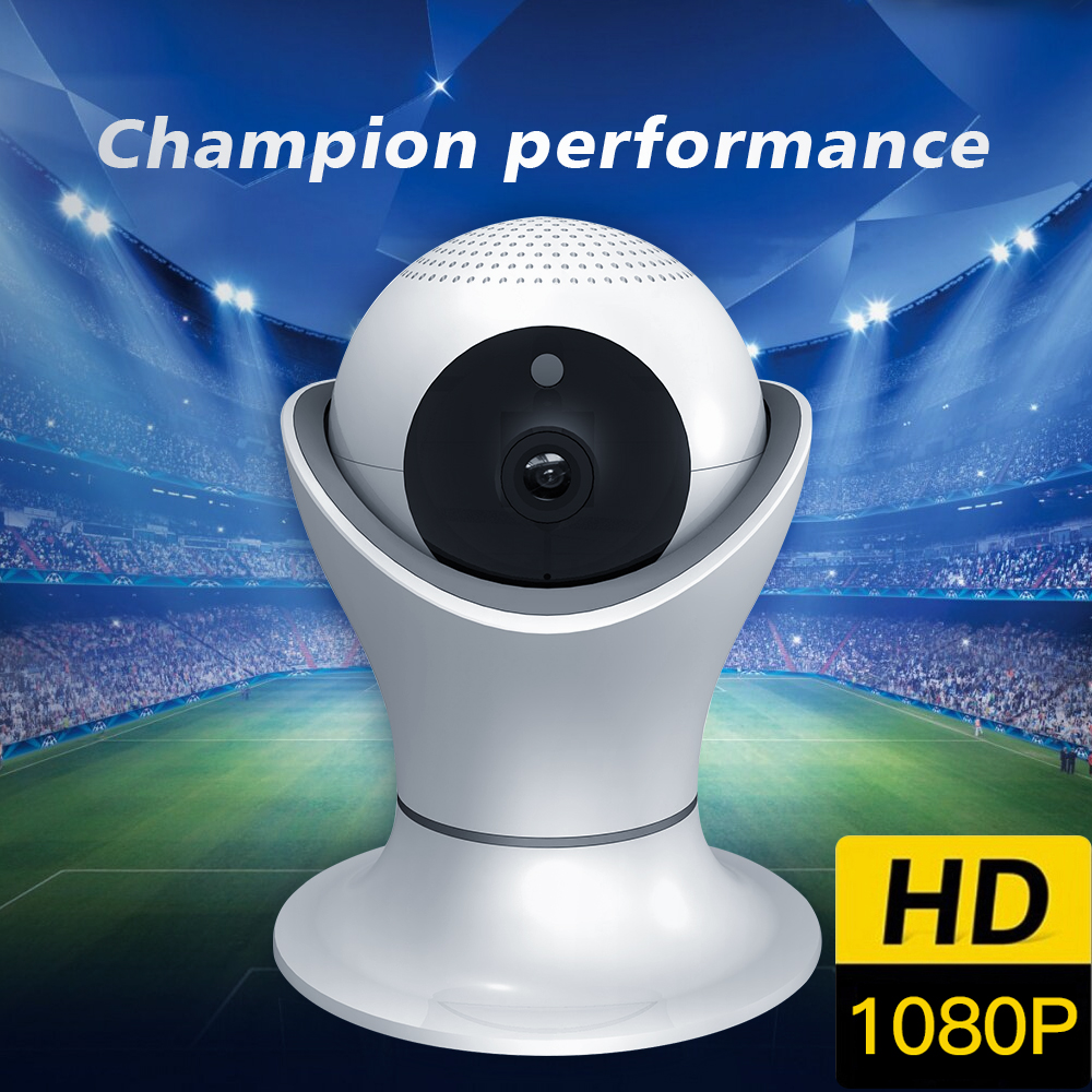 SDETER Wireless 1080P 2MP IP Camera CCTV Camera WiFi Home Surveillance Security Camera Night Vision PanTilt Zoom For iOS/Android yalxg new wireless wifi hd 1080p ip camera home security network cctv night vision system support ios android onvif dvr