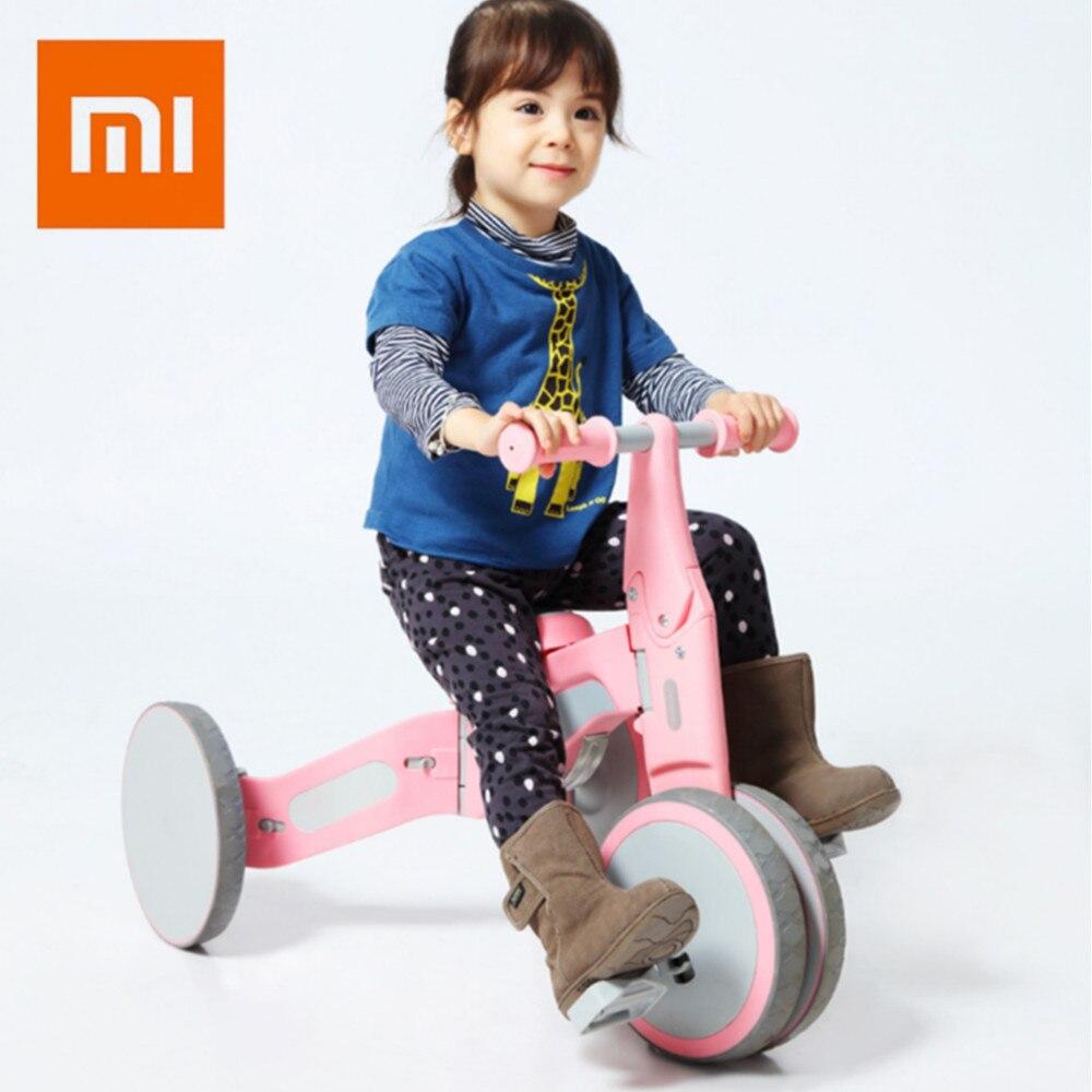 Xiaomi Youpin TF1 деформируемого двойной режим велосипед для детские, для малышей 18-36 месяцев баланс Управление ездить на разведки игрушки подарок