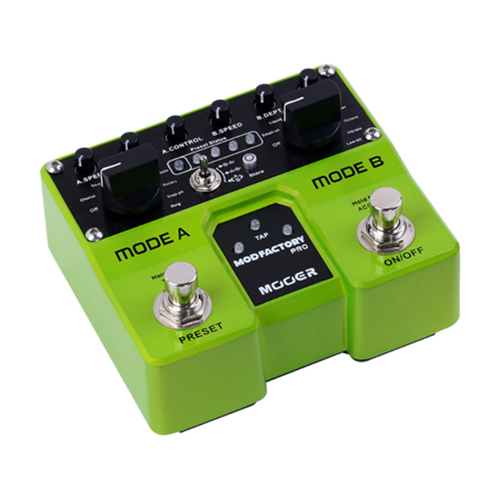 Mooer Mod Factory Pro Modulation Guitar Effect Pedal 4 Presets for Electric Guitar Digital Effects 16 Modulation Effects TME1 investigation of modulation techniques for multilevel inverters