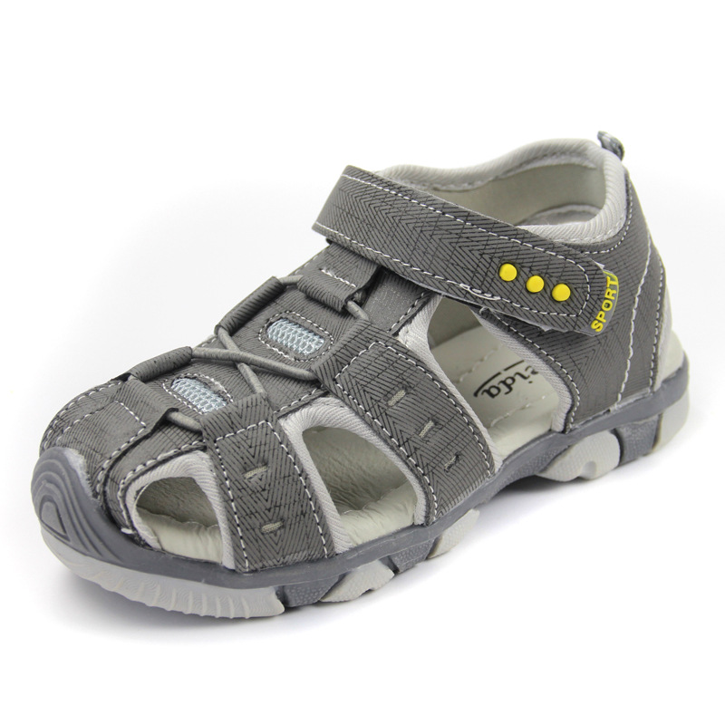 Brand Children Shoes Boys Sandals 2018 Summer Casual Kids Shoes Boy Shoes Fashion Non-slip Closed Toe Comfortable Sports Sandals