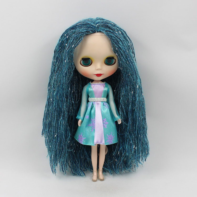 12 inch Mini Blyth nude doll b female bjd doll big eyes little witch doll special hair suit modified make up dolls for girls trendy dragonfly shape multi layered friendship bracelet for women