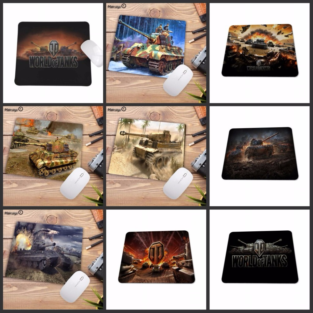 Mairuige  22X18CM Custom High Speed World Of Tanks Game Vintage Stylish Mouse Pad Gaming Big Promotions For Russia Country