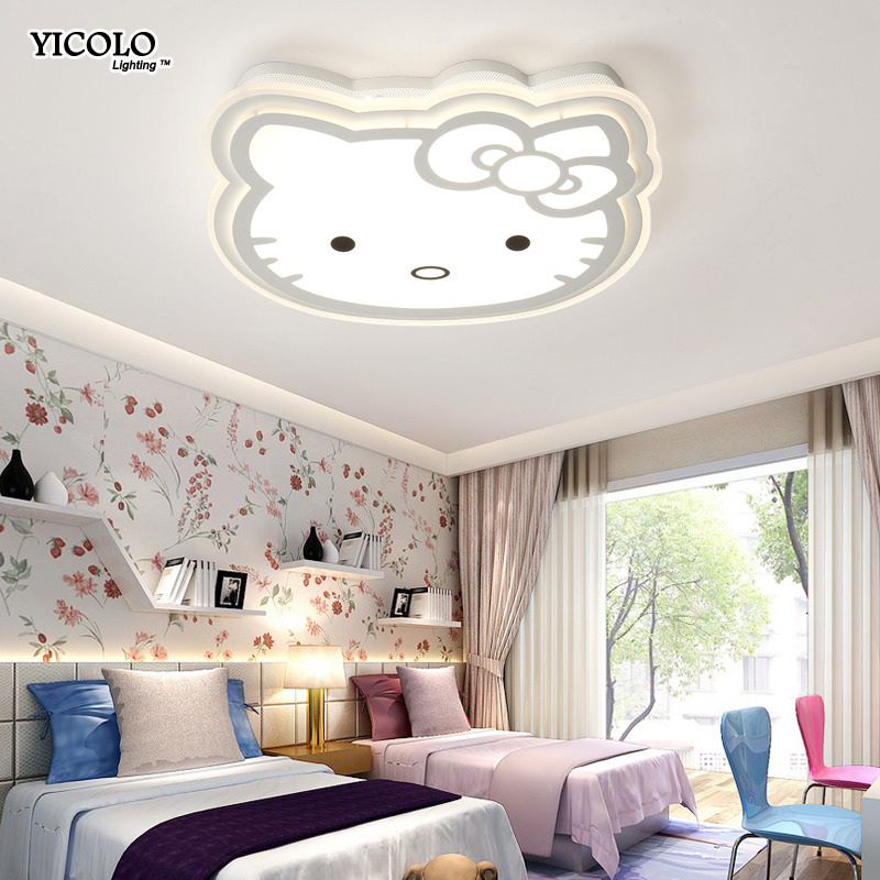 Здесь можно купить  Remote control Led Ceiling Lights Ultra-thin Acrylic for study room kids room children room baby room De Techo Plafond Abajur  Свет и освещение
