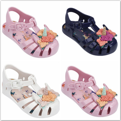 girls sandals My Little Pony kids floral glitter heart strap sports shoes summer