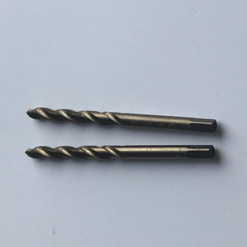 Nemokamas pristatymas 2PCS aukštos kokybės M2-M5mm HSS M35 Co5% - Rankiniai įrankiai - Nuotrauka 5