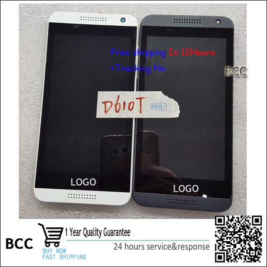 Original New LCD Display and Touch Screen Digitizer with frame 4 color  For HTC desire 610 D10 Test ok+Free Tracking No. lcd screen display touch panel digitizer with frame for htc one m9 black or silver or gold free shipping