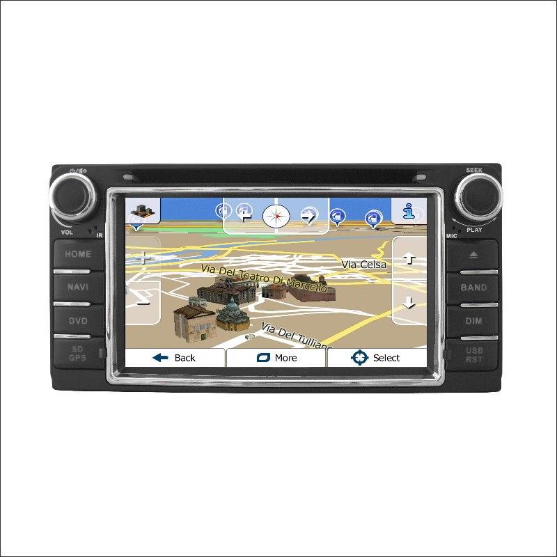 Para Toyota Corolla 2000-2006 Car Radio CD DVD Amplificador Reproductor de HD TV