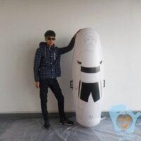 1.8m High Inflatable Football Training Dummy Soccer Dummy Goal Keeper Tumbler
